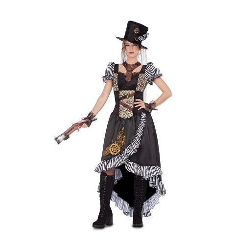 Disfraz de Lady Steampunk...