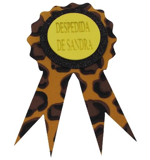 Pin Leopardo Despedidas