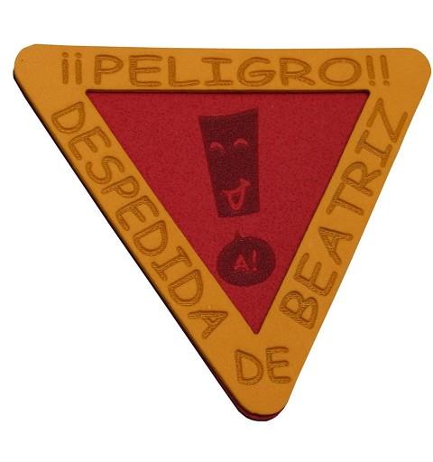Pin Señal Peligro...