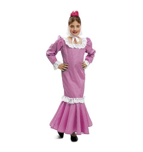 Disfraz de Madrileña Rosa...