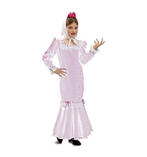 Disfraz de Madrileña Blanca...