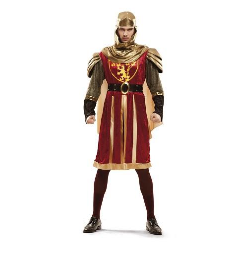 Disfraz de Rey Cruzado Rojo...