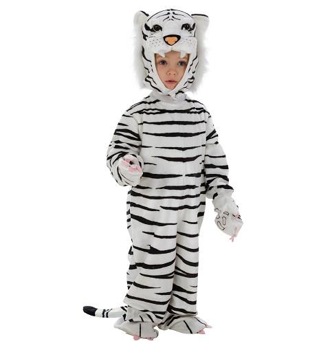Disfraz Bebe Tigre Blanco (HASTA 12 MESES)