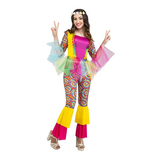 Disfraz de Hippie Colorines...