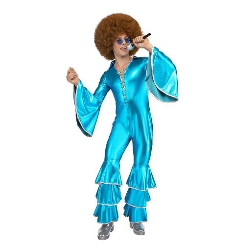 Disfraz Disco Mono Azul...