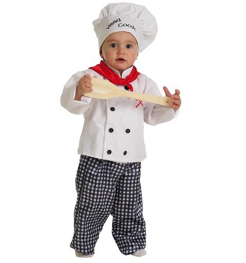Disfraz Cocinero Bebe (0 a 12 meses)