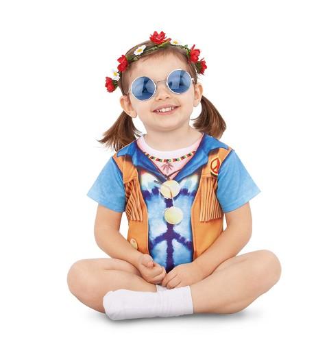 Disfraz de Hippie para Bebé...