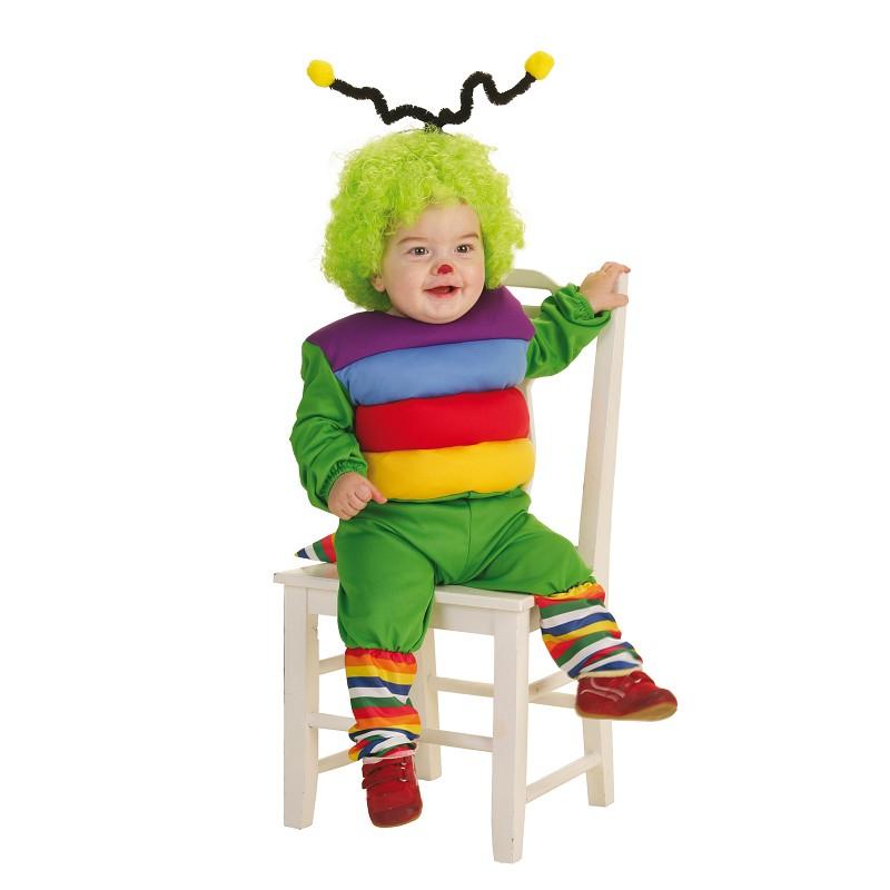 Disfraz gusanito bebe 0 a 12 meses midisfraz - Disfraces para bebe nina ...