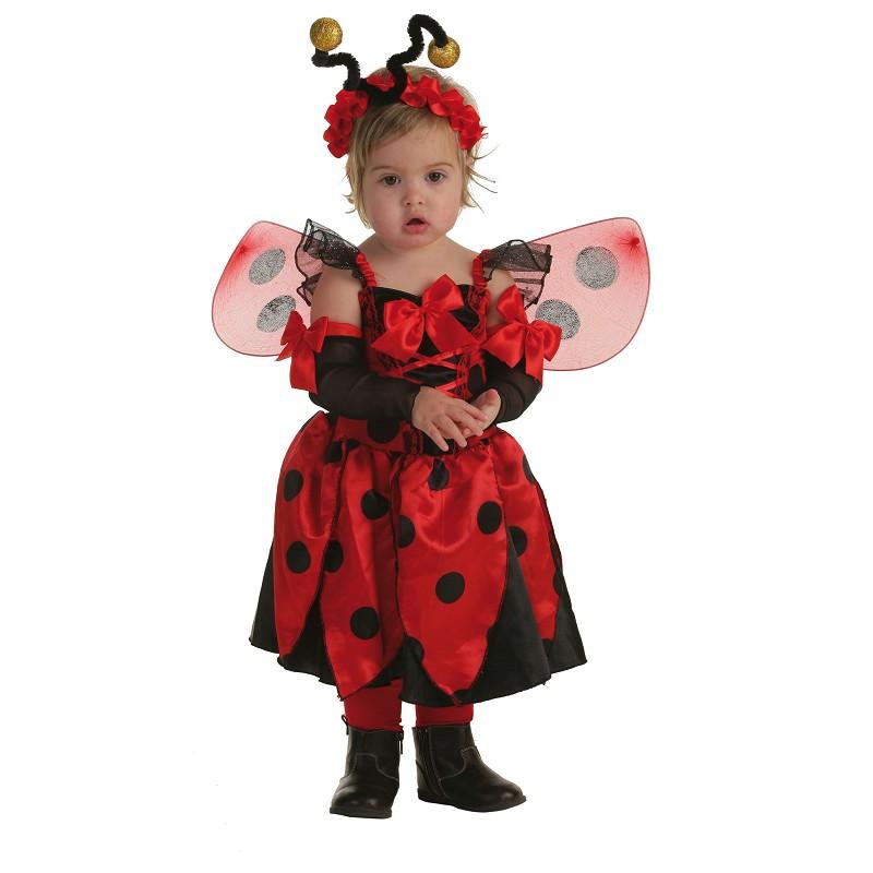Disfraz Mariquita con Alas Bebe 0 a 12 meses MiDisfrazcom