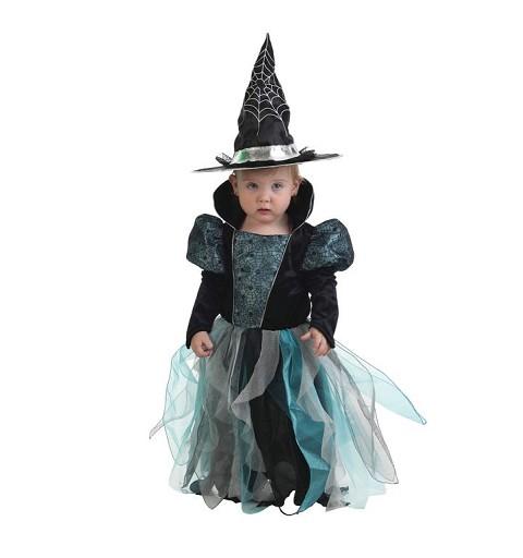 Disfraz Bruja Azul Bebe (1 - 2 años )