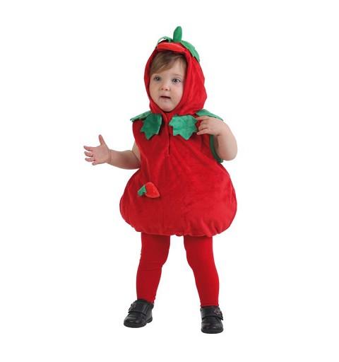 Disfraz Fresa Cuerpo Bebe (0 a 12 meses)