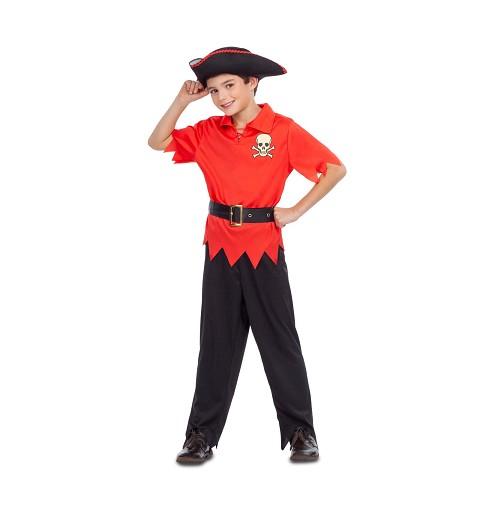 Disfraz de Pirata Rojo para...