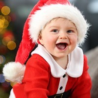 Disfraz Papá Noel Bebé