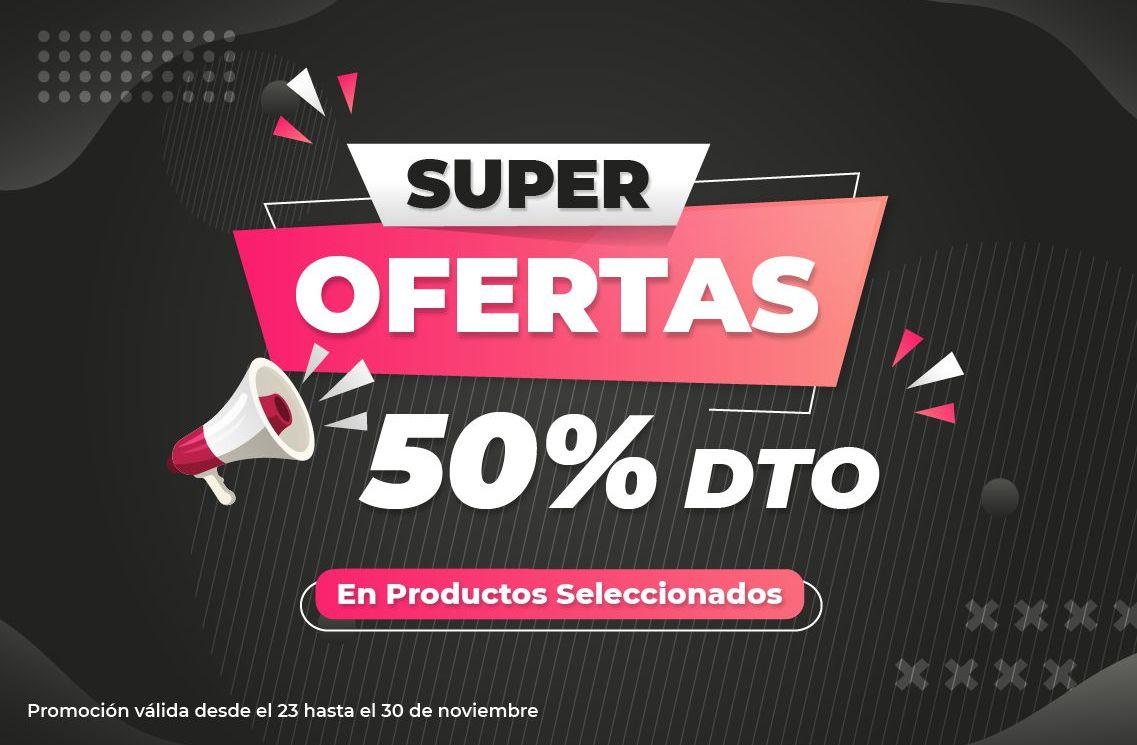 Black Friday SÚPER OFERTAS 50% DTO