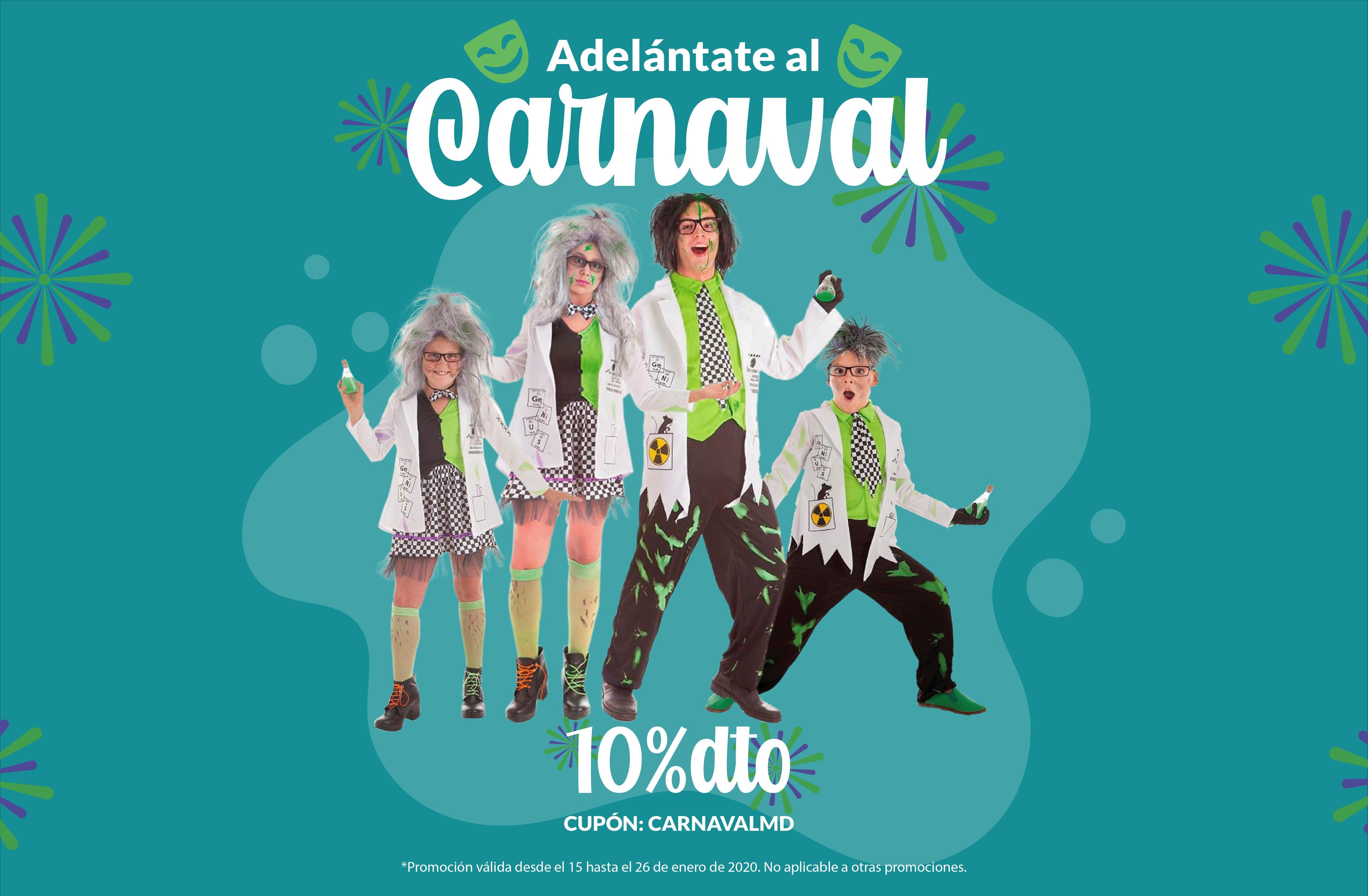 Disfraces de Carnaval 2020