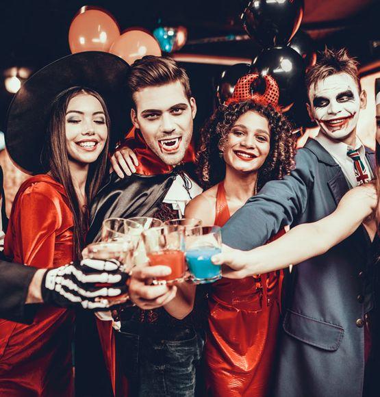 Disfraces Halloween en Grupo
