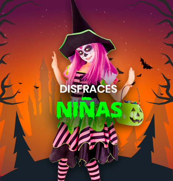 Disfraces Halloween para Niñas