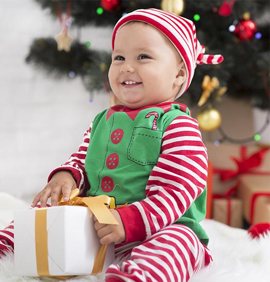 Disfraces de Navidad para Bebés