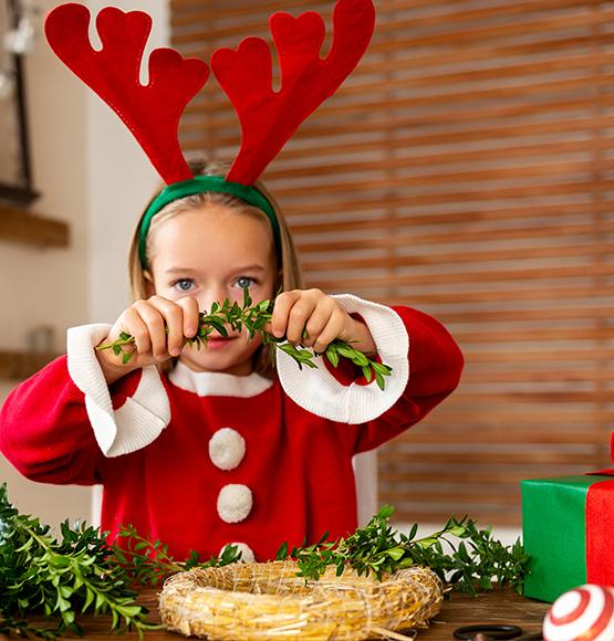 Disfraces de Navidad para Niñas