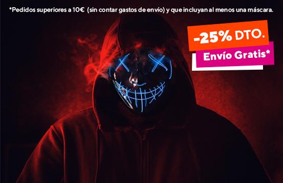 Máscaras para Halloween 2021