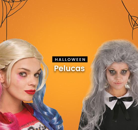 Pelucas Halloween